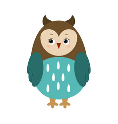 owl for children vector image