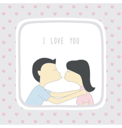 Couple in love2 vector
