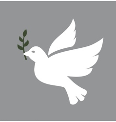 Dove icon vector image