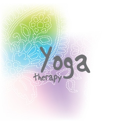 Yoga - background with copy space vector