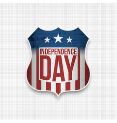 american independence day design element vector image vector image