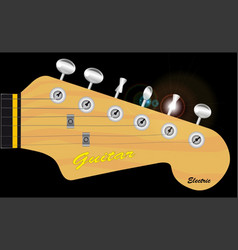Headstock vector