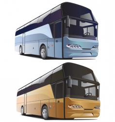 large bus vector image