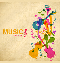Music abstract concept vector