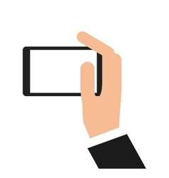 Smartphone technology portable icon vector