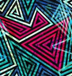 grunge spiral seamless pattern vector image