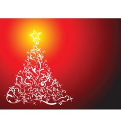 glittering lights vector image vector image