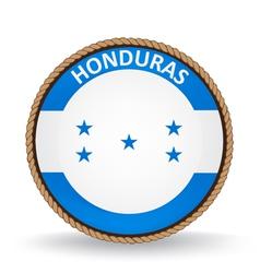 Honduras Seal vector image vector image