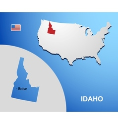Idaho vector