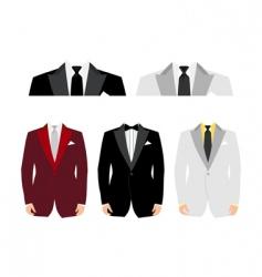 suit vector image