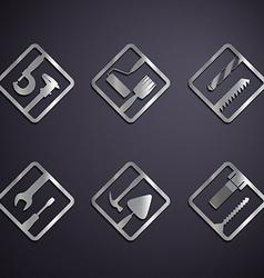 Industrial tools stock vector