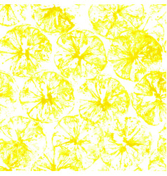 Lemon stamp seamless background lemon juice vector