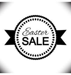 Easter Sale Poster design vector image