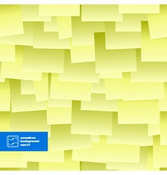 Paper Notes Seamless Background vector image vector image
