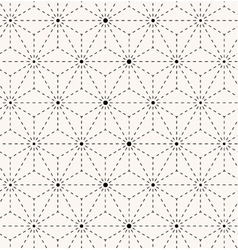 Seamless trendy geometrical pattern vector image vector image
