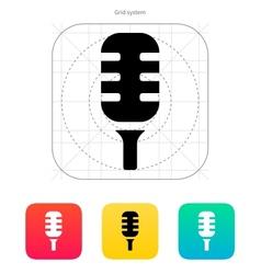 Studio microphone icon vector image vector image