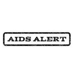 Aids alert watermark stamp vector