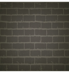 Brick wall at night vector