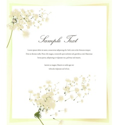 spring invitation vector image