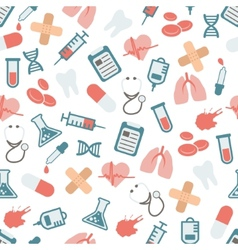 doctor seamless pattern vector image vector image