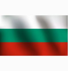 Flag of bulgaria - vector
