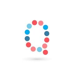 Letter Q logo icon design template elements vector image vector image