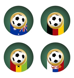 Soccer Cup Group composition vector image