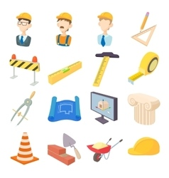 Repair and construction working tools icons set vector