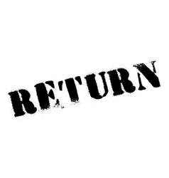 Return rubber stamp vector