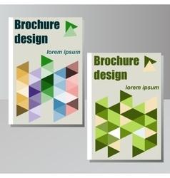 Very high high quality original brochure design vector image