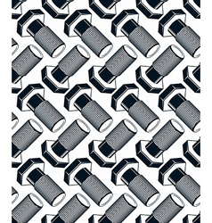 Repair idea seamless pattern highly detailed 3d vector