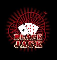 Black jack vector