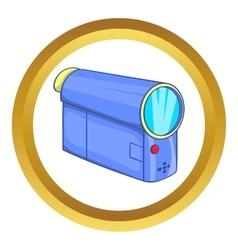 Camcorder icon vector image