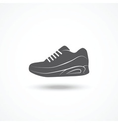 Running shoe icon vector image vector image
