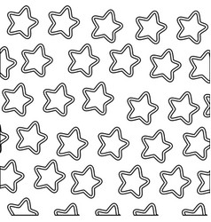Stars icons background vector