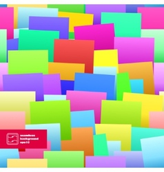 Colorful paper notes seamless background vector