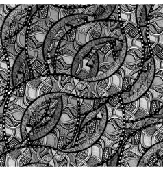 Sketchy seamless pattern vector