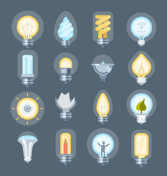 Light bulb idea logo energy power concept vector