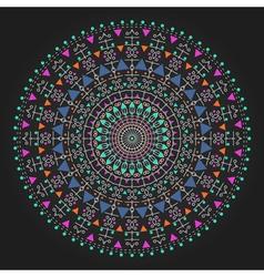 geometric hipster circle 3ww311 03 vector image