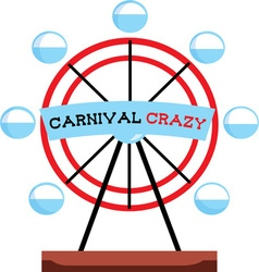 Carnival Crazy vector image