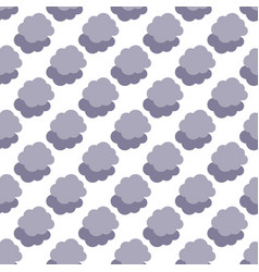 Clouds weather seamless pattern background vector