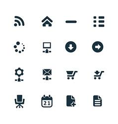 development soft icons set vector image