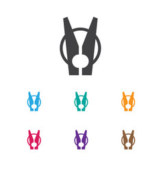 of hygiene symbol on laundry vector image