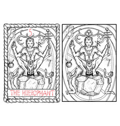 The hierophant vector