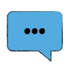 Bubble speak dialog talk comic vector