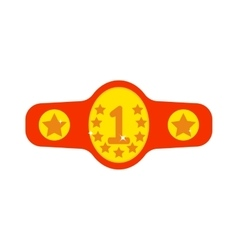Winner belt vector