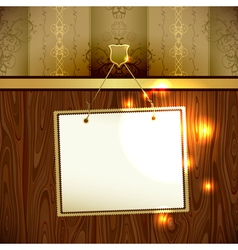 background with frame vector image