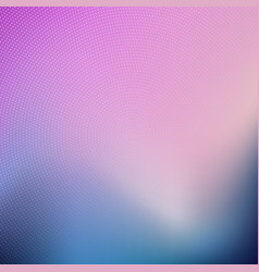 abstract blur background with halftone dots vector image vector image