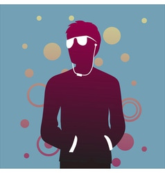 club man vector image vector image