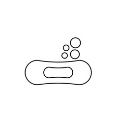 soap icon vector image vector image
